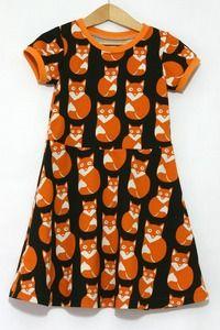 Image of The Skater Dress sewing pattern -18m/2T, 3T/4T, 5Y/6Y, 7Y/8Y - PDF @Jen Holtkamp