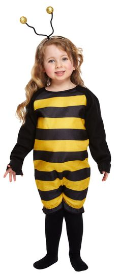 Kid's Bumble Bee Costume | Animal Costumes | Mega Fancy Dress