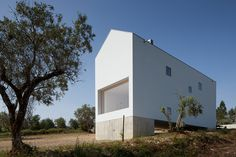 situated on a small rural estate, the single-family home has been positioned to allow maximum sun exposure, while preserving the olive-tree landscape.