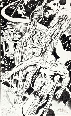 Jack Kirby The Silver Surfer