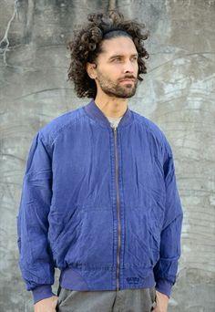 Hugo Boss Silk Bomber Jacket