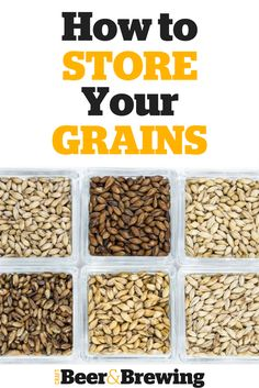 How to Store Your Grains