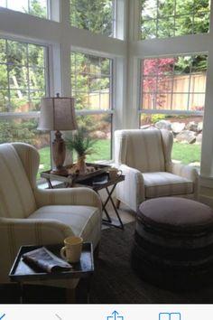 Best 45 Cheap Sunroom Furniture Ideas 29 - Angela Home Sunroom Furniture, Furniture Ideas, Cheap Furniture, Conservatory Furniture, Furniture Design, Cottage Shabby Chic, Cottage Style, Small Sunroom, Sunroom Decorating