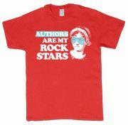 Authors Are My Rock Stars :: Authors Are My Rock Stars T-shirt (Austen) - Sourcebooks Store