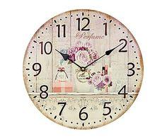 Reloj de pared en madera Roses - Ø34 cm