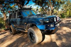89 Turbo Mav LWB MT/R's Home made roof console Home made rear drawers Airtec snorkel Modified 80 Series steel rack Custom steel rear bar EFS. Patrol Y61, Nissan Patrol, 4x4 Trucks, Land Cruiser, Rigs, Cars Motorcycles, Offroad, Cool Cars, Monster Trucks