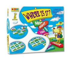 Amazon.com: Language Games - Where Is It?: Toys & Games