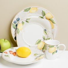 @Overstock - Brighten any family meal with this cheerful fruit salad dinnerware set. With a colorful design of lemons, strawberries, and blueberries, the 16-piece set is perfect for a family of four and is oven, dishwasher, and microwave safe for convenience.http://www.overstock.com/Home-Garden/Red-Vanilla-Fruit-Salad-16-piece-Dinnerware-Set/3827000/product.html?CID=214117 $103.49
