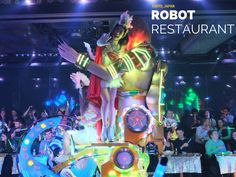Robot Restaurant in Shinjuku!
