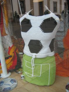 WM-Outfit, gehäkelt Football Fashion, Football Love, Soccer, Children, Outfit, Design, Football, Tall Clothing, Futbol