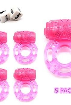 [gallery] Material: Medical soft Silicone Vibrating Penis Ring: Pack of 5 color: pink Effect : Increase the married life fun. Easy to Use Made from soft silicone material One size fit most. Stretchy cockring Battery build in,last about 25-30 mins or more Soft jelly ring enhances and prolongs male erection for maximum endurance and sensation [amz_corss_sell asin=B01BY7JYKE]