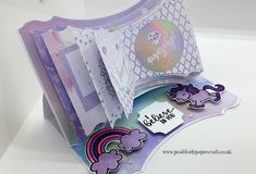 Positively papercraft: Open Book Easel Card With Or Without Dies! Card Making Supplies, Cardmaking And Papercraft, Easel Cards, Open Book, How To Make Paper, Hobbies And Crafts, One Pic, Album, Create Yourself