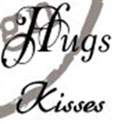 Picture of Marianne Design Clear Stamp Hugs/Kisses