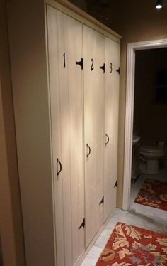 How To: Make Your Own Pottery Barn Vintage Lockers....LOVE