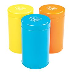 Product # 19506 Splash Tins Bundle - Solid Colour 3 Solid Color Splash Tins…