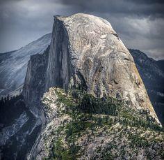 Half Dome - Glacier Point Glacier Point, Half Dome, Explore, Mountains, Nature, Travel, National Forest, Naturaleza, Viajes