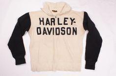 1930's Harley Davidson Sweater 1