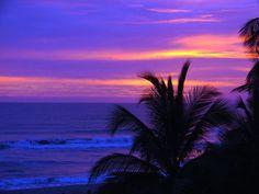 Atardecer en el Puerto de La Ceiba-Honduras