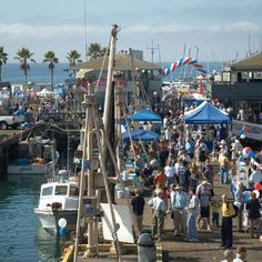Bowen's Wharf Seafood Festival Newport, Rhode Island October For two days in October, sea chanties, Irish folk songs, and good old-fashio...