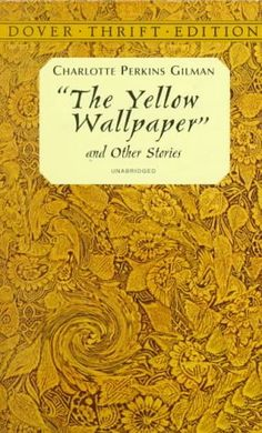 I read this in my Literature course. The Yellow Wallpaper by Charlotte Perkins Gilman.It's regarded as an important early work of American feminist literature, illustrating attitudes in the century toward women's physical and mental health. I Love Books, Great Books, Books To Read, My Books, Love Reading, Reading Lists, Book Lists, Reading Room, Agatha Christie