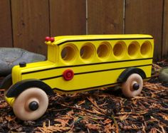This beautifully handcrafted wooden Toy Panel Truck will inspire imaginative and active play. This Truck is made from all natural pine and redwood with a natural non toxic varnish finish. All wheels are free rolling. Corners are rounded and have been hand sanded. Approximate size Truck size 8 inches long 3 1/2 inches wide 5 inches tall *Please be aware of the choking hazard with smaller children. These toys have a few small parts that may break off with excessive rough or improper use.*