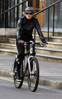 Madonna #cycling #celebrities #cyclingcelebrities