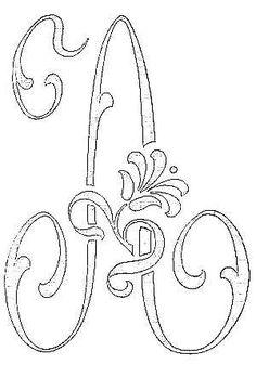 28 - Photo de Alphabet A - Broderie d'Antan