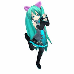 Everyone is welcome to Miku's Saturday night partaay! #gif