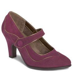 NEW Aerosoles Sweet Escape Purple Heels Size 5! #Aerosoles #MaryJanes