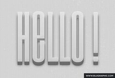 Psd Text Effects | Blugraphic