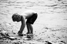 Lulworth Cove Beach Children