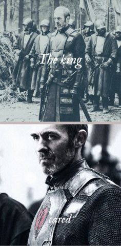 The King who still cared: Stannis Baratheon, Game of Thrones, (by tyaene)