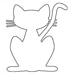 Scroll Saw Patterns to Print | Make cat a plywood cutout by enlarging any pattern here. You can use a ...
