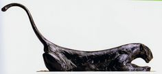 Among my favorite sculptors are Michelangelo, Rodin and Rembrandt Bugatti. Bugatti was born in Milan in 1885 into a highly artistic family. Bugatti, Rembrandt, Animal Sculptures, Sculpture Art, Open Art, Art Folder, Wood Carving Art, Ceramic Figures, Pretty Cats