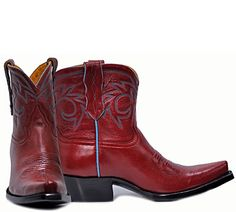 Great Boot, I love red, especially on women ;)