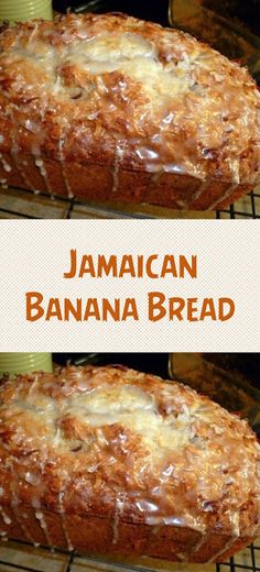 JAMAICAN BANANA BREAD 2 cups all-purpose flour teaspoon baking soda teaspoon salt 1 cup granulated sugar cup butter, softened 2 large eggs 1 cups mashed ripe banana (about 3 bananas) cup plain low-fat yogurt (or pina colada flavored! Banana Bread Recipes, Cake Recipes, Dessert Recipes, Yummy Recipes, Jamaica Banana Bread Recipe, Crockpot Banana Bread, Bread Machine Banana Bread, Skinny Banana Bread, Gastronomia