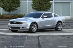 OG | 2009 Ford Mustang Mk5 | Full-size clay model dated Sep. 2005