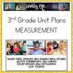 3rd Grade Lesson Plans Measurement 3.6C 3.6D 3.7B 3.7C 3.7D 3.7E