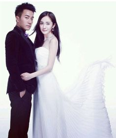 Hawick Lau ♡ Yang Mi Foto Wedding, Peach Blossoms, Most Handsome Men, Eternal Love, Chinese Actress, Korean Dramas, Romantic Couples, Best Couple, Creative Ideas