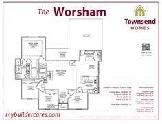 The Worsham - Cretin Townsend Homes Townsend Homes, Louisiana Homes, Corner Sink, Southern Style, Great Rooms, Living Area, French Country, Dreaming Of You, House Plans