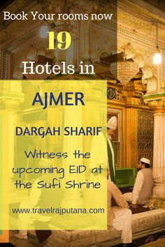 Book your rooms at best hotels in Ajmer if you are planning to witness the upcoming Eid celebration at Sufi Shrine Dargah Sharif, Ajmer. #Ajmer #DargahSharif #touristspots #Eid #FestivalsofIndia