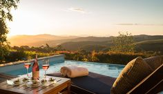 Delaire Graff Lodges and Spa, Western Cape – South Africa Plunge Pool, In Vino Veritas, Hotels And Resorts, Small Hotels, Luxury Hotels, Wine Country, Cape Town, Luxury Travel, Lodges