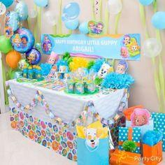 Make the gift table as colorful as an octopus's garden!