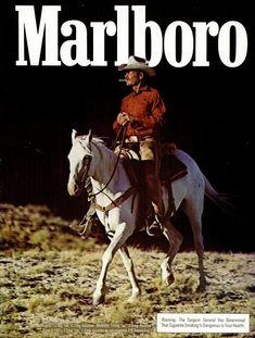 Marlboro Man - 1978 advertisement