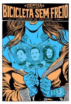 great poster work from douglas bicicleta  via http://www.emailinspiration.com/