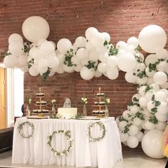 Love balloon, Wedding backdrop outside, outside wedding, backdrop wedding decor inspiration, Hochzei Simple Wedding Decorations, Bridal Shower Decorations, Simple Weddings, White Party Decorations, Wedding Balloon Decorations, Table Decorations, Balloon Arch, Balloon Garland, Balloon Pump