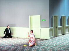 Messiah as staged by Claus Guth. Theater an der Wien, 2009.