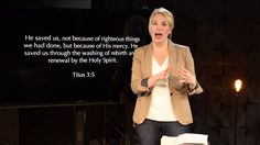 5 Minutes in the Word with Marian Jordan Ellis | Titus 3:5  A Redeemed Girl Knows Her Identity