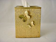 Stylebuilt Accessories 24K Gold Plated Tissue Cover by GSaleHunter