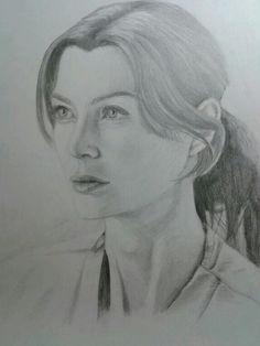 Grey's anatomy fan art Meredith Grey